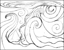 Passover Pencil Sketch